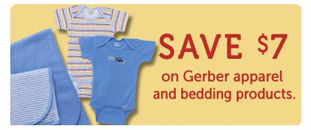 Gerber clothing coupons